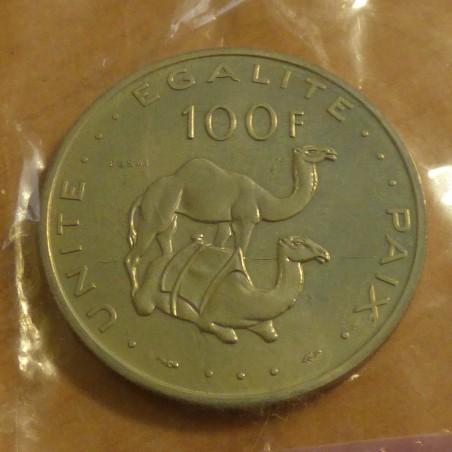 Djibouti 100 francs 1977 Essai in original seal