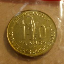 BCEAO 10 francs 1981 Essai...