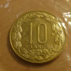 BEAC 10 francs 1974 Essai...