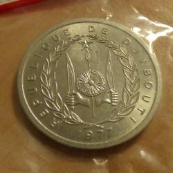 Djibouti 2 francs 1977...