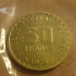 Mali 50 francs 1975 Essai...