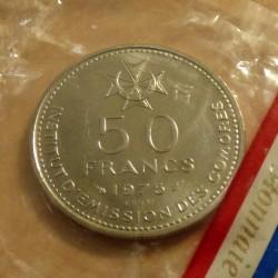 Comores 50 francs 1975...