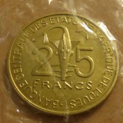 BCEAO 25 francs 1980 Essai...