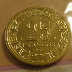 Equatorial Guinea 25 francs...