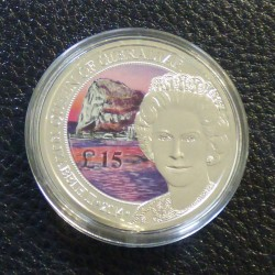Gibraltar 15$ 2014 colored...