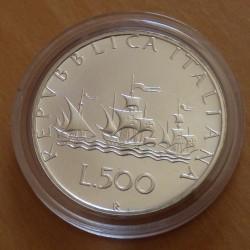 Italy 500 lira 1985...