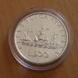 Italy 500 lira 1993...