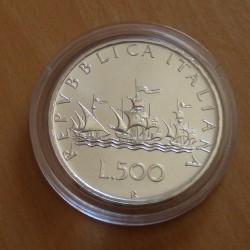 Italy 500 lira 1989...