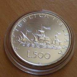 Italy 500 lira 1983...