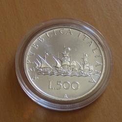 Italy 500 lira 1990...