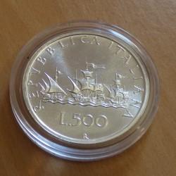 Italy 500 lira 1991...