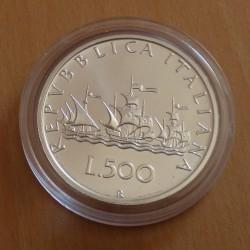 Italy 500 lira 2001...
