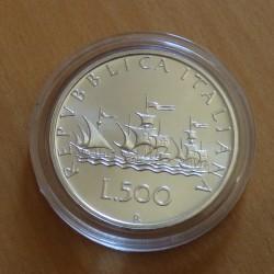Italy 500 lira 1998...