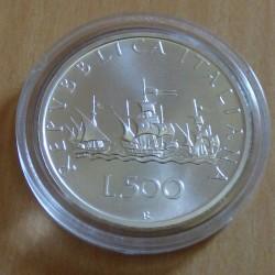 Italy 500 lira 1999...