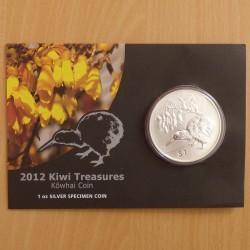 New Zealand 1$ Kiwi 2012...