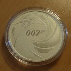Tuvalu 1$ 2020 James Bond...