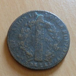 France 2 sols 1791 A au...