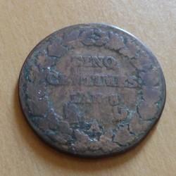 France 5 centimes Dupré An...