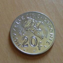 New Caledonia 20 francs...