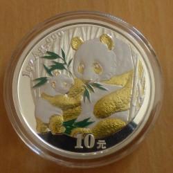 China 10 yuans Panda 2005...