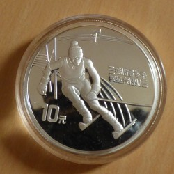 China 10 yuan 1991 Olympic...
