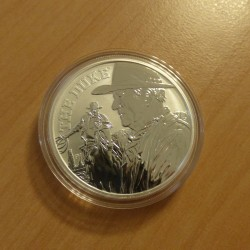Tuvalu 1$ 2020 Wayne silver...
