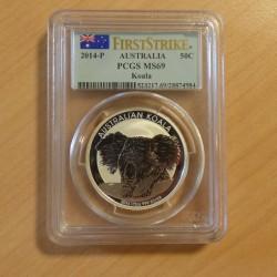 Australia 50c Koala 2014...