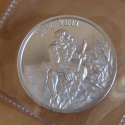 Round Yeti silver 99.9% 2 oz