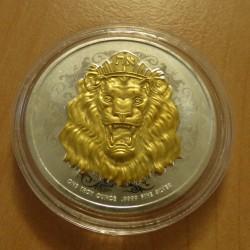 Niue 2$ Lion 2020 gilded...