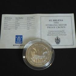 Sainte Helene 50 pence 1994...