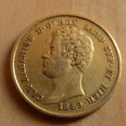 Italy 20 lira 1849 Turin P...