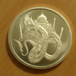 Round Indian Dragon silver...