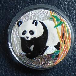 China 10 yuans Panda 2002...
