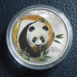 China 10 yuans Panda 2003...