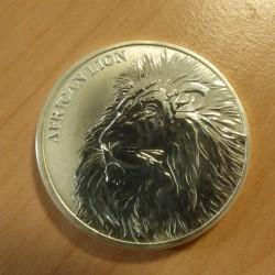 Tchad 5000 CFA African Lion...