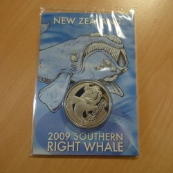 New Zealand 1$ Right Whale...