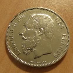 Belgium 5 francs 1873...