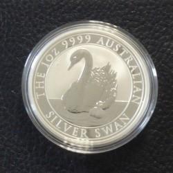 Australia 1$ Swan 2018...