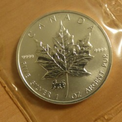 Canada 5$ Maple Leaf 1998...
