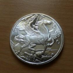 US Round Pegasus Silver...
