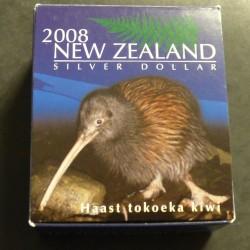 New Zealand 1$ Kiwi 2008...