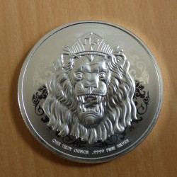 Niue 2$ 2021 Roaring Lion...