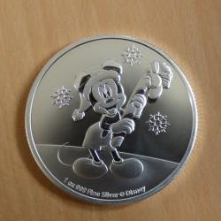 Niue 2$ Mickey Christmas...