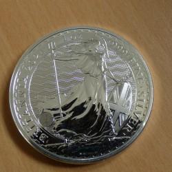 UK 2£ Britannia 2021 silver...
