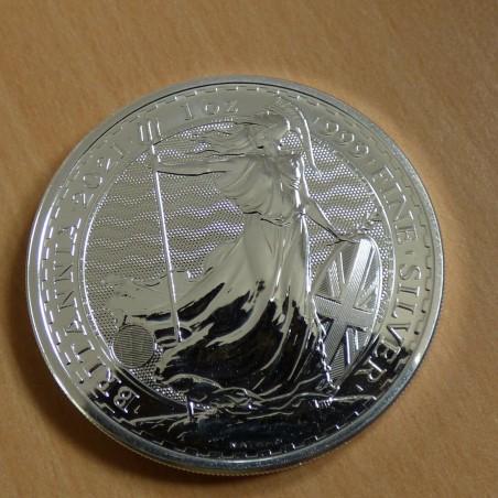 UK 2£ Britannia 2021 silver 99.9% 1 oz