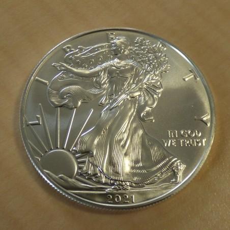 US 1$ Silver Eagle 2021 silver 99.9% 1 oz