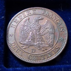 France 2 cents 1857 Large D...