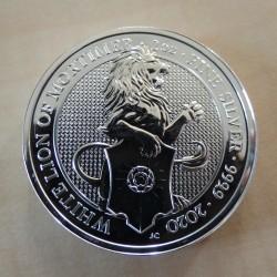 UK 5£ Queen's Beasts Lion...