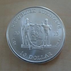 Suriname 10$ 2013 Justitia...