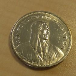 Switzerland 5 francs Berger...